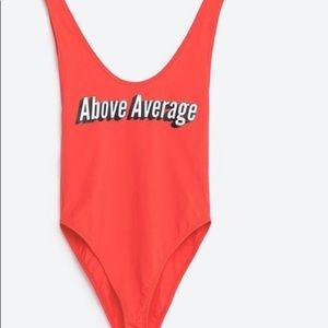 Zara One Piece Swimsuit